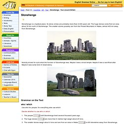 Stonehenge - Tour around Britain