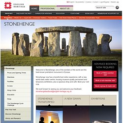 Stonehenge : Wiltshire : South West : Find a property by map : P