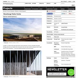 Denton Corker Marshall — Stonehenge Visitor Centre