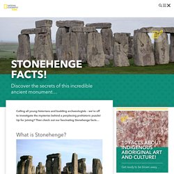 Stonehenge facts for kids