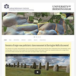 "The ""Stonehenge Hidden Landscape Project"""