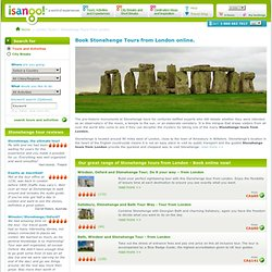 Stonehenge Tour, Original London Sightseeing