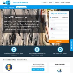 Find Local Stonemason near You - Certified Stoneworker