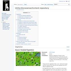 Utility:Stonesense/Content repository