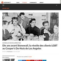 Dix ans avant Stonewall, la révolte des clients LGBT au Cooper's Do-Nuts de Los Angeles