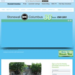 Stonewall Columbus | Columbus, Ohio's Gay, Lesbian, Bisexual, and Transgender Community Center