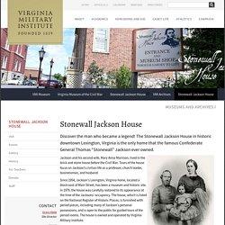 Stonewall Jackson House - Virginia Military Institute