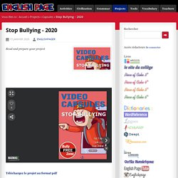 Stop Bullying - 2020 - English Page