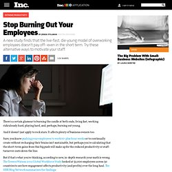 Stop Burning Out Your Employees: 3 Ways