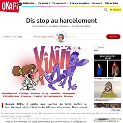 Dis stop au harcèlement - Okapi 100% ADO – Le blog