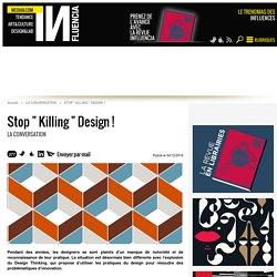 """Stop """" Killing """" Design ! - 04/12/16"""