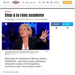 Stop à la réac academy