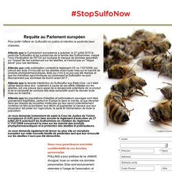 Stop Sulfo Now