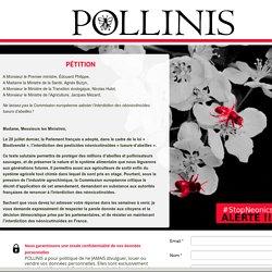 ALERTE StopNeonics : signez la pétition aux Ministres