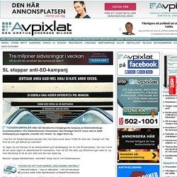SL stoppar anti-SD-kampanj « Avpixlat