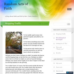 Random Acts of Faith
