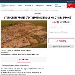 STOPPONS le projet d'entrepôt logistique XXL d'Illies Salomé
