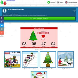 Online Stopwatch - Christmas Countdown Page!