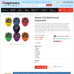 Ultrak 310 Simple Silent Event Stopwatch Volunteer Economy Test Observation