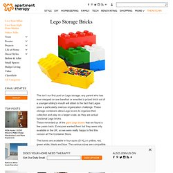 Lego Storage Bricks