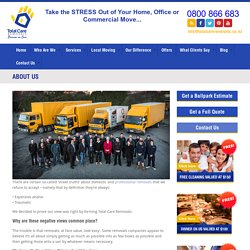 Moving and Storage Company New Zealand