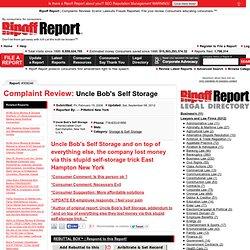 Complaint Review: 309246