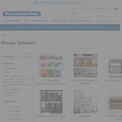 Storage Bins, Baskets, Storage Containers, Storage Solutions & Tubs
