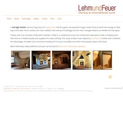Storage Heaters : Lehm und Feuer english