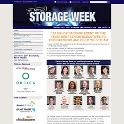 Renewable Energy and Storage Conference