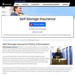 Self-Storage Insurance - Cost & Coverage (2019)