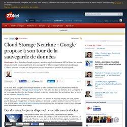 Cloud Storage Nearline : Google propose à son tour de la sauvegarde de données