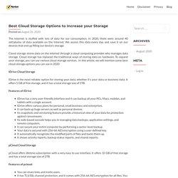 Best Cloud Storage Options to Increase your Storage - Norton.com/setup