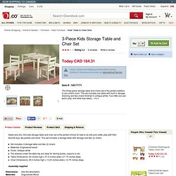 Overstock.com Shopping - The Best Deals on Kids' Table & Chair Sets