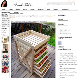Build a Food Storage Shelf