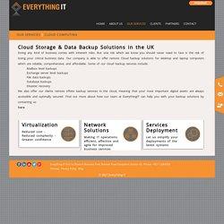 Cloud Backup In UK