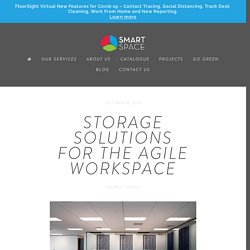 Storage Solutions For The Agile Workspace