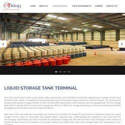 Bulk Liquid Storage Tank Terminal in Kandla