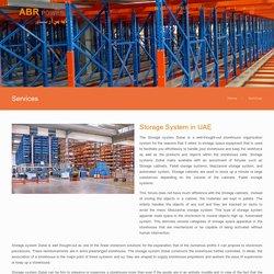 Warehouse Storage Solutions Dubai UAE