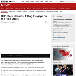 BHS store closures: Filling the gaps on the High Street