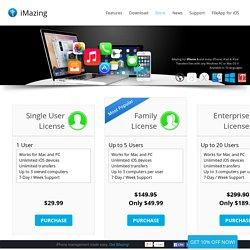 Store - iMazing (formerly DiskAid)