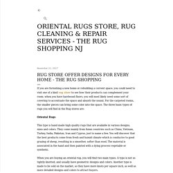 Rug Store Offer Designs for Every Home - The Rug Shopping