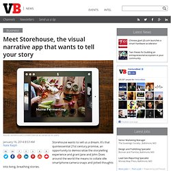 Meet Storehouse, the visual narrative app that wants to tell your story