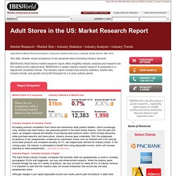 Adult Stores in the US Market Research
