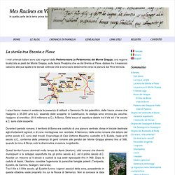 La storia tra Brenta e Piave