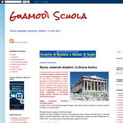 Guamodì Scuola: Storia, materiali didattici: la Grecia Antica