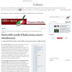 Storia delle sorelle d'Italia (senza onori e cittadinanza)