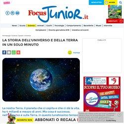 La storia dell'Universo e della Terra in un solo minuto - FocusJunior.it