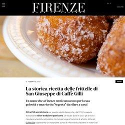 La storica ricetta delle frittelle di San Giuseppe di Caffè Gilli