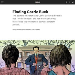 Eugenics - Finding Carrie Buck