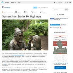 German Short Stories For Beginners - LearnOutLive